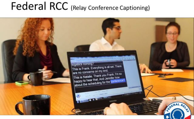 Relay Hawaii – Relay Conferencing Captioning Service (RCC)