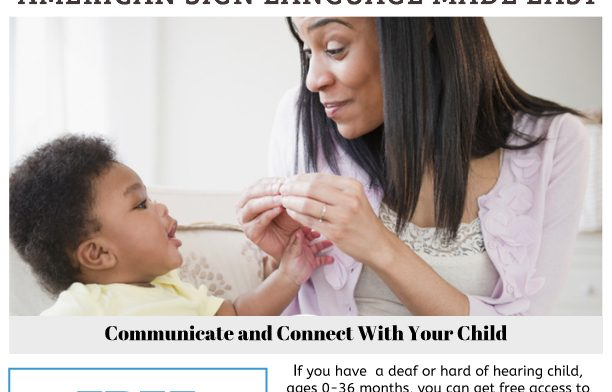 Sign It! Resource Available for Families of Young Children Who are Deaf or Hard of Hearing