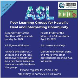 ASL Peer Learning Group