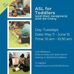 ASL for Toddlers Flyer