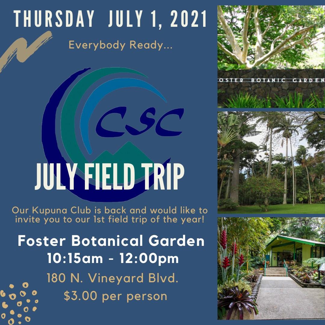 July Field Trip