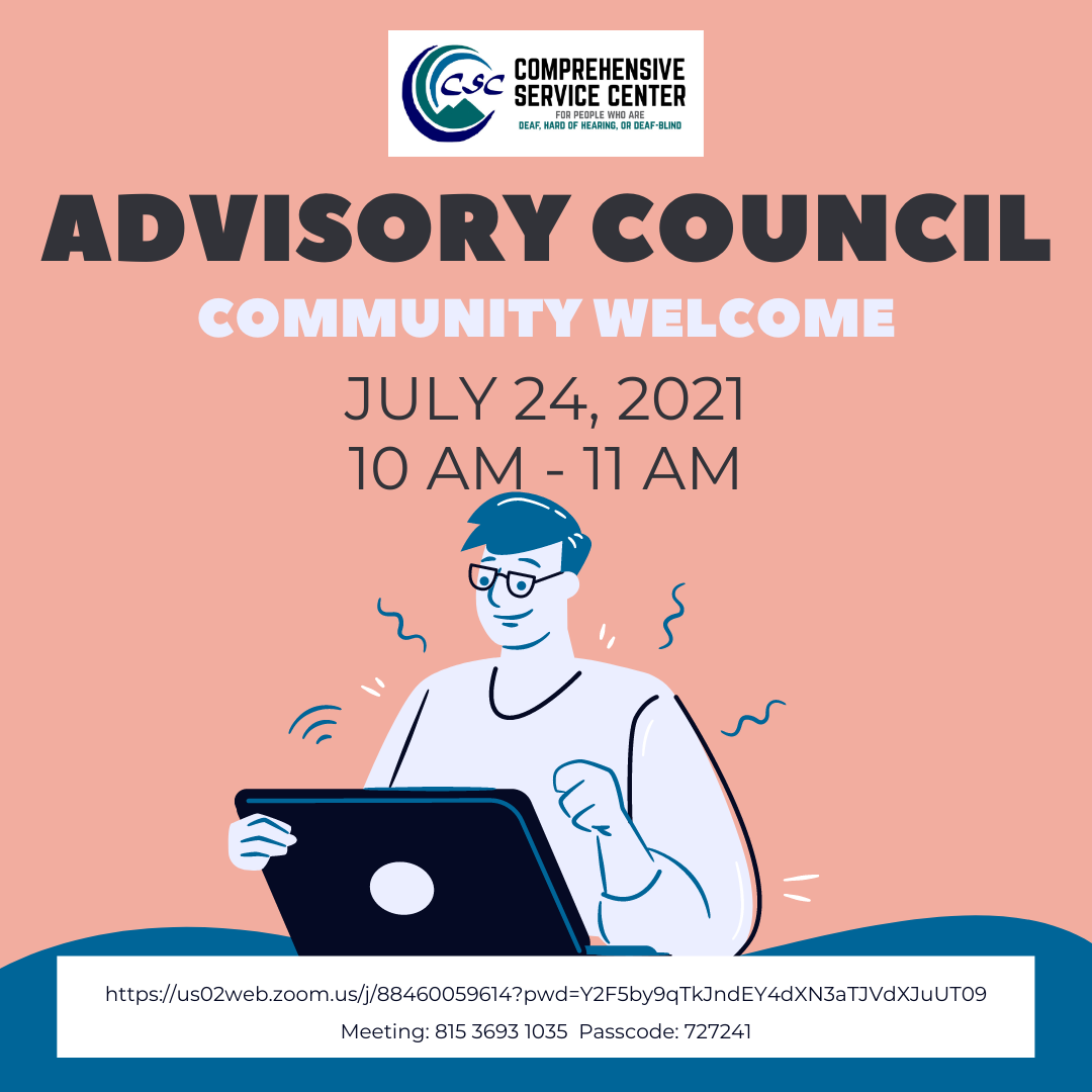 Advisory Council: Community Welcome