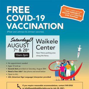 Free COVID-19 Vaccination